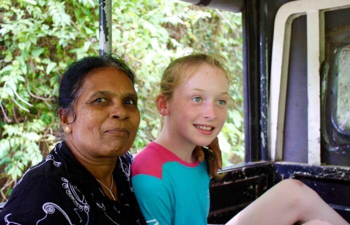 Sri Lanka family holidays - truck transport
