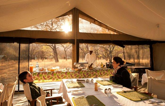 Kati Kati Camp - Tanzania family safari