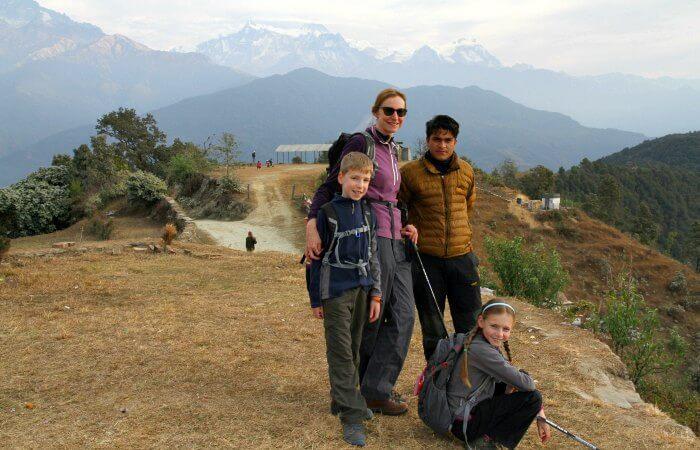 Kids trekking in Nepal - Nepal customer reviews