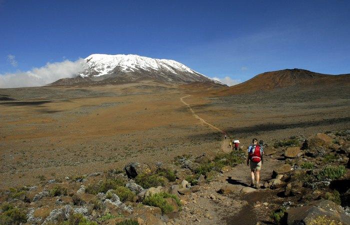 Mount Kilimanjaro lower slopes - Tanzania itineraries