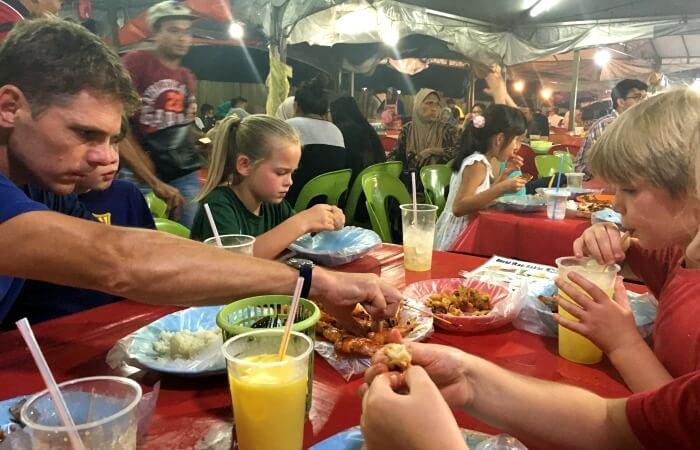 Borneo Family Holidays - Filipino Market in Kota Kinabalu