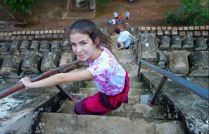 Burma family holidays - exploring ancient temples