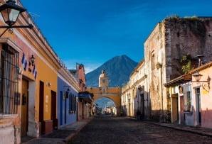 Belize itineraries - St Catarina Arc and volcano Antigua Guatemala