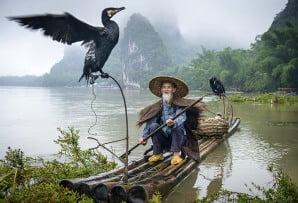 Itinerary 1 Cormorant fisherman Li River in Yangshuo  Guangxi_198329261
