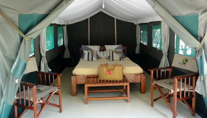 Where to stay in Kenya - Ol Moran Tented Camp