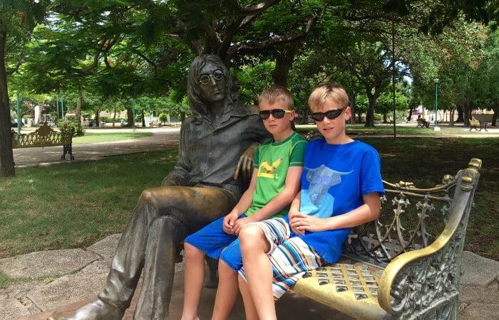 John Lennon Park Havana - Family holidays in Cuba