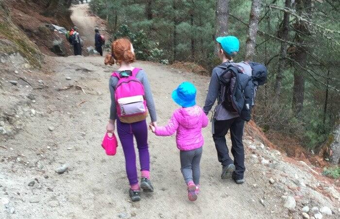 Trekking in Nepal - Nepal family holidays