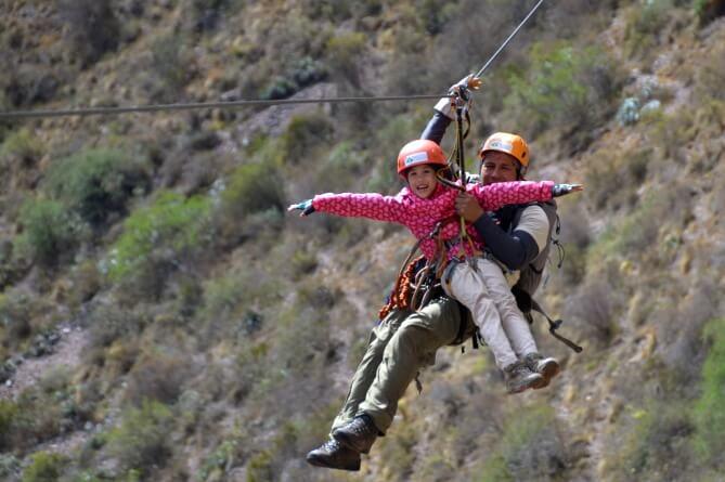 Peru customer review - zip-lining