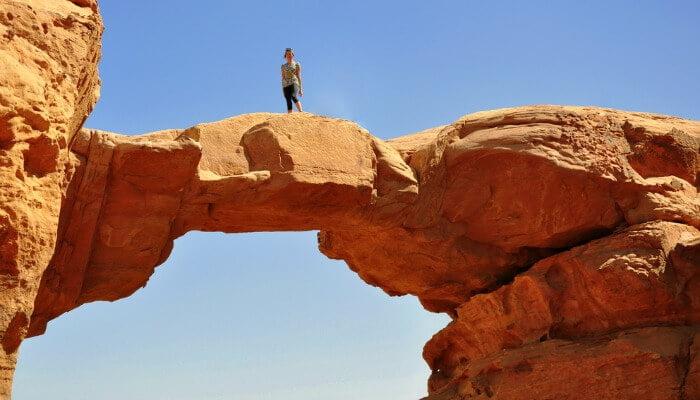 Places to Visit Burdah Rock Bridge Wadi Rum_115082191
