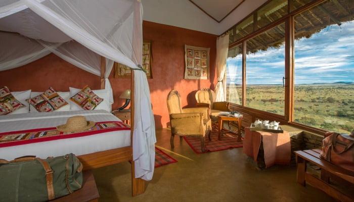 Where to stay in Tanzania -Serengeti Simba Lodge