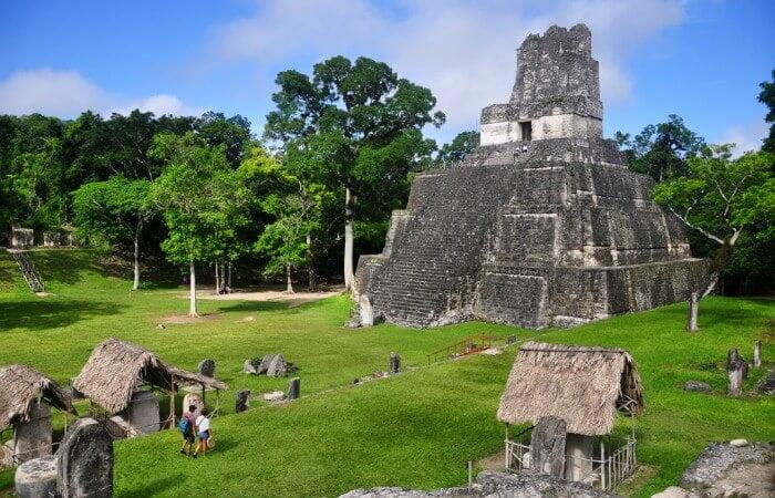 visit Tikal on a Belize family holiday