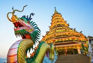 Thailand itineraries - Wat Hyua Pla Kang Chiang Rai