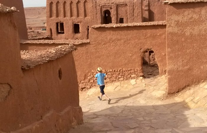 Places to visit in Morocco - exploring ancient city