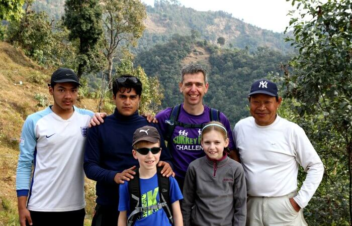 Family trekking holidays - Annapurnas