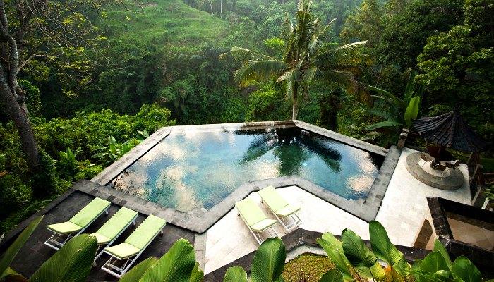 Where to stay in Bali - Beji Ubud hotel with pool