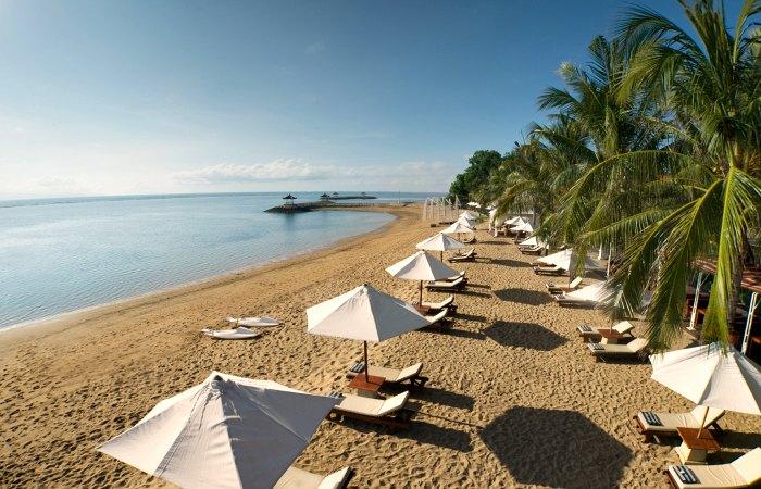 Beach at Griya Santrian - Indonesia & Bali Family holidays