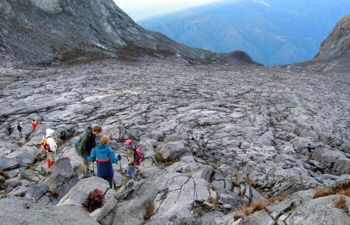 Family trekking holidays - Mount Kinabulu