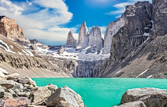 Family trekking holidays - family treks - W trek Torres del Paine National Park