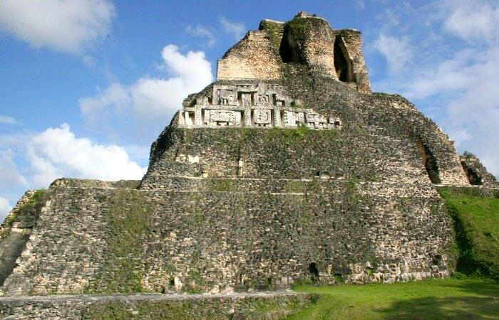 2017 family holidays - Xunantunich - Mayan temple