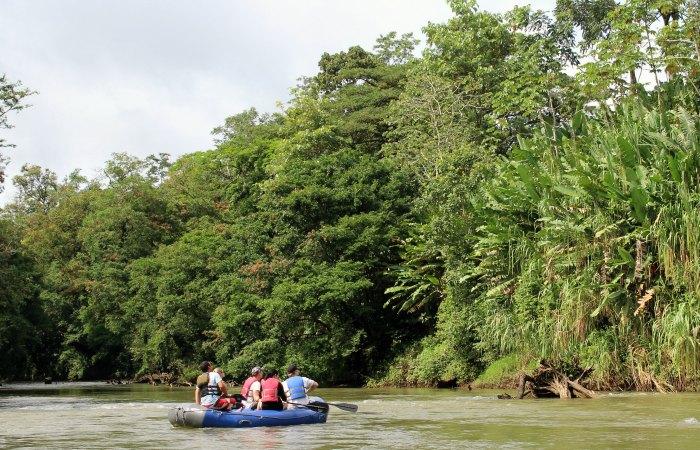 Costa Rica with kids - 'safari float'