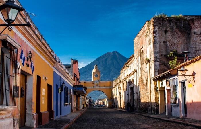 Guatemala family holidays - Antigua - St Catarina's Arch