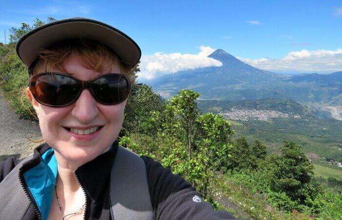 Guatemala family holidays - Kelly 'selfie'