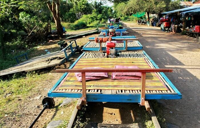 Family holidays in February - Bamboo railway