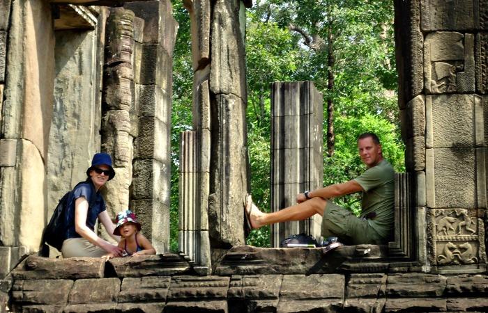 Family holidays in February - Angkor Watt with the family