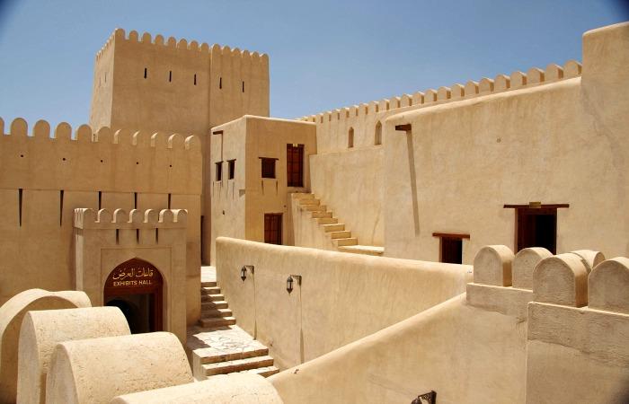 Family holidays in February Nizwa Fort Oman