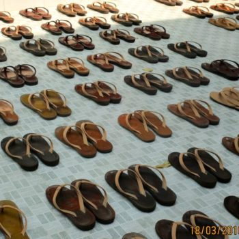 National Geographic kids award - photo of Nun's shoes in Burma Myanmar