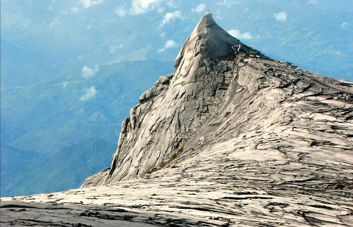 Summit - Mount Kinabalu climb in fine weather