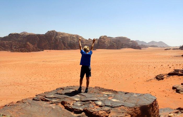 Exploring Wadi Rum - Family adventure holidays