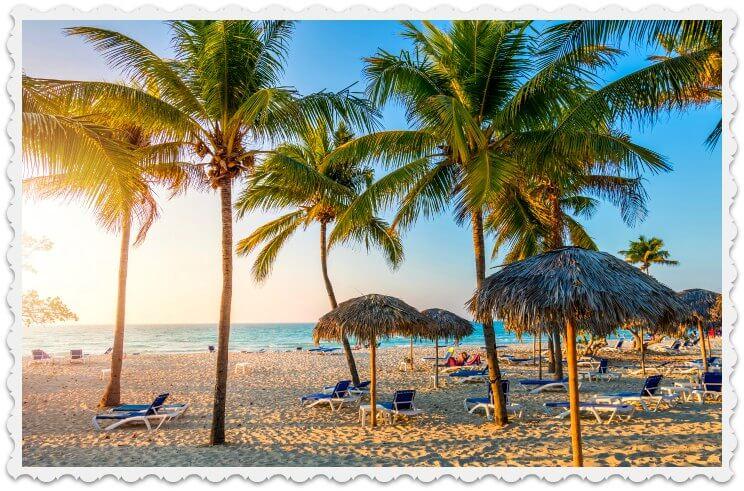 Cuba postcard - Varadero beach