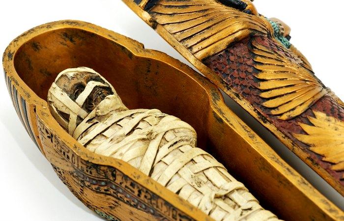 Egyptian mummy casket - Family Adventure holidays