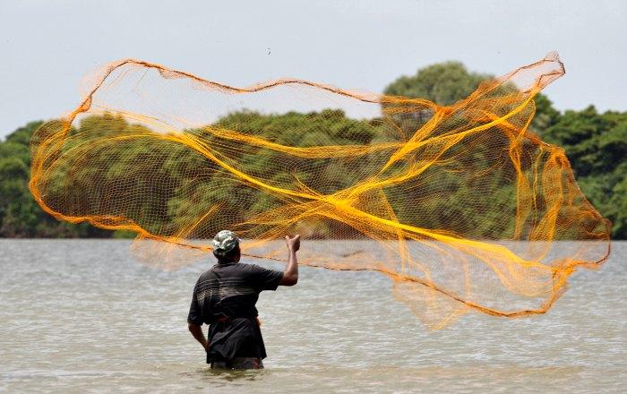 Fisherman in Sri Lanka, young photography awards