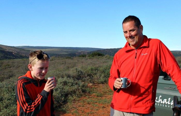 Safari diary - morning drinks
