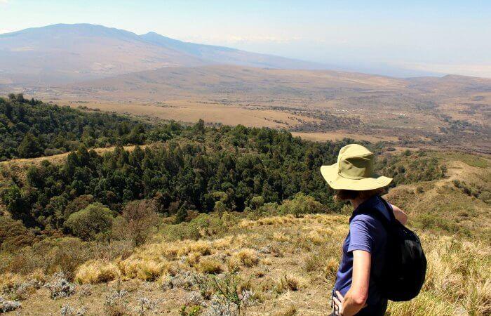 Hiking in Tanzania with kids