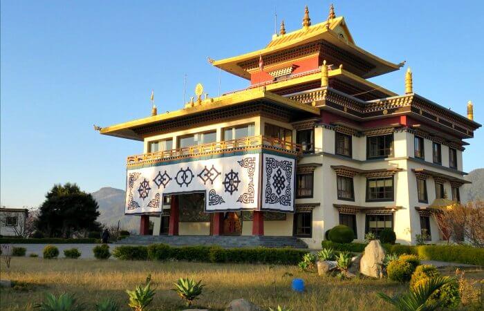 Neydo Monastery - Nepal family travel photos