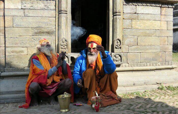 Saddhus - Nepal photo blog