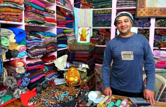 Shopping in Pokhara - Nepal photo diary