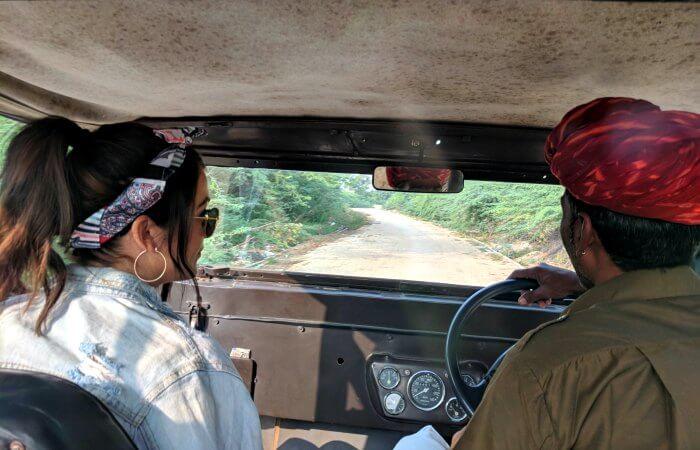 Village home stay - village jeep drive