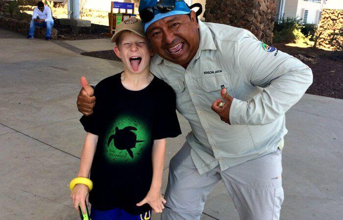 Favourite Galapagos T shirt - Galapagos with kids holiday
