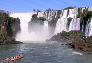 Brazil itineraries for families - Iguazu Falls