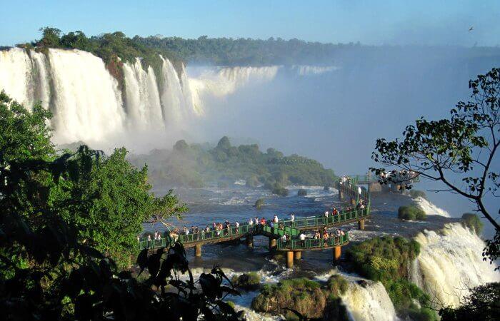 Iguazu Falls - Brazil with kids holiday itinerary
