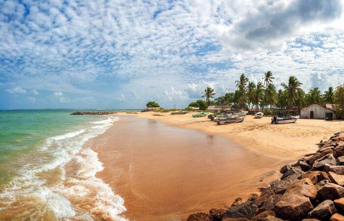 Beach at Kalpitiya - Sri Lanka - 50th birthday holiday