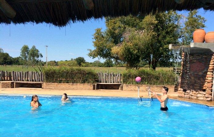 Pantanal pool - Brazil with kids itinerary