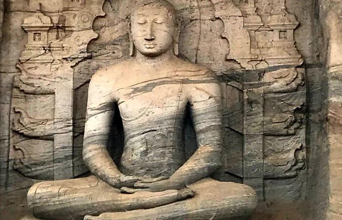 Visiting Polonnaruwa on 50th birthday celebration abroad