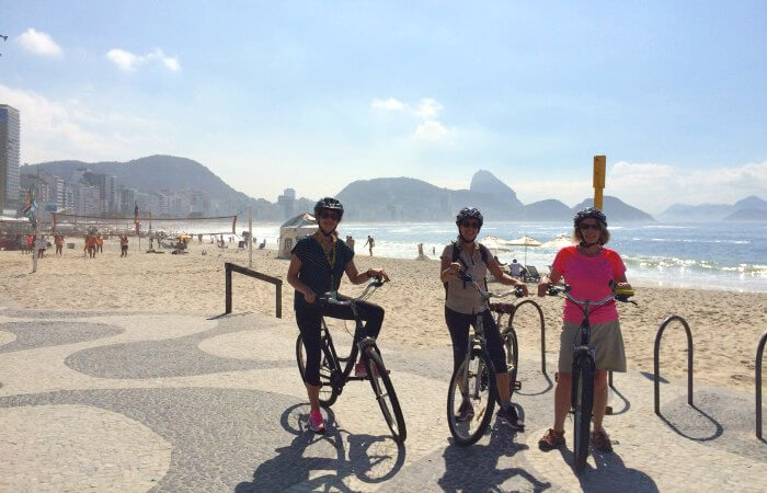 Cycling in Rio - top 10 Brazil with children activities