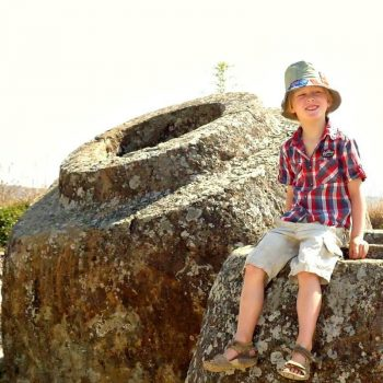 Laos family holidays masthead photo - Plain of Jars Laos