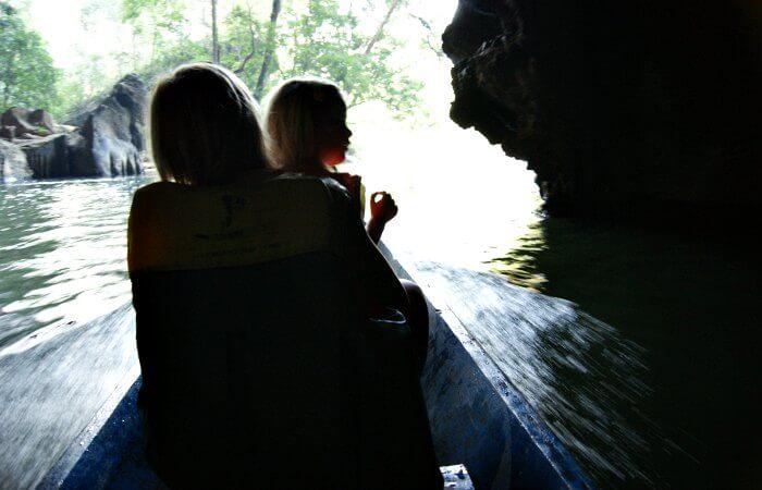Kong Lor cave trip - Laos family holidays